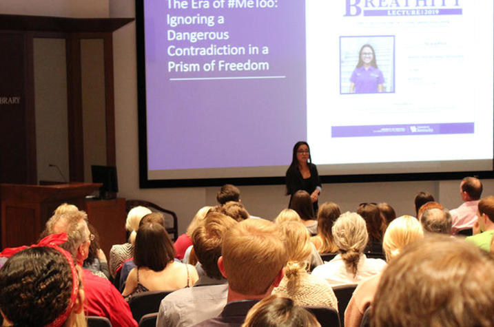 photo of Tiana The delivering Breathitt Lecture