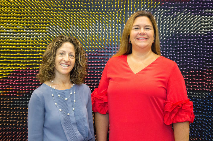 Nancy Schoenberg and Carrie Oser