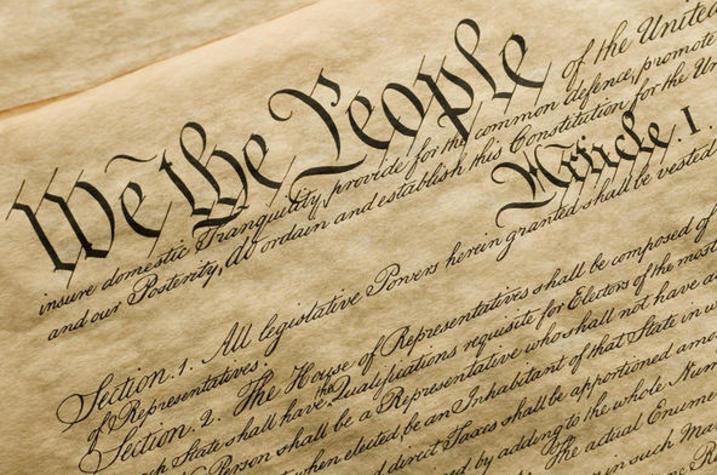 Photo of U.S. Constitution