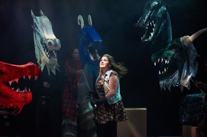 "scene from UK Theatre's ""She Kills Monsters"""