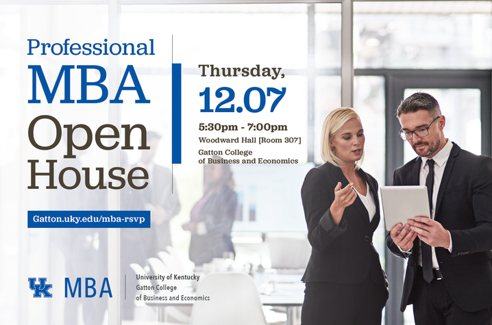 Professional MBA Open House