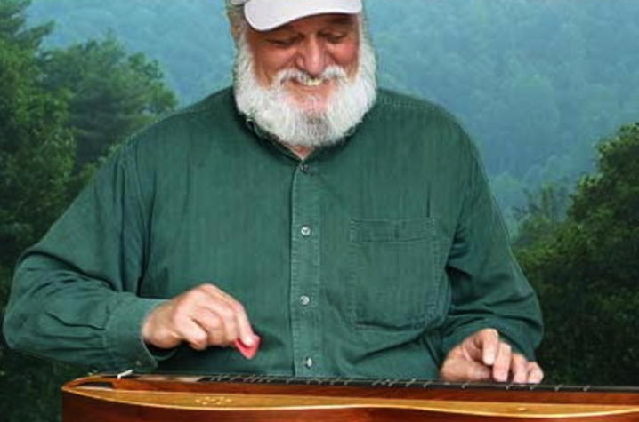 photo of Don Pedi playing dulcimer