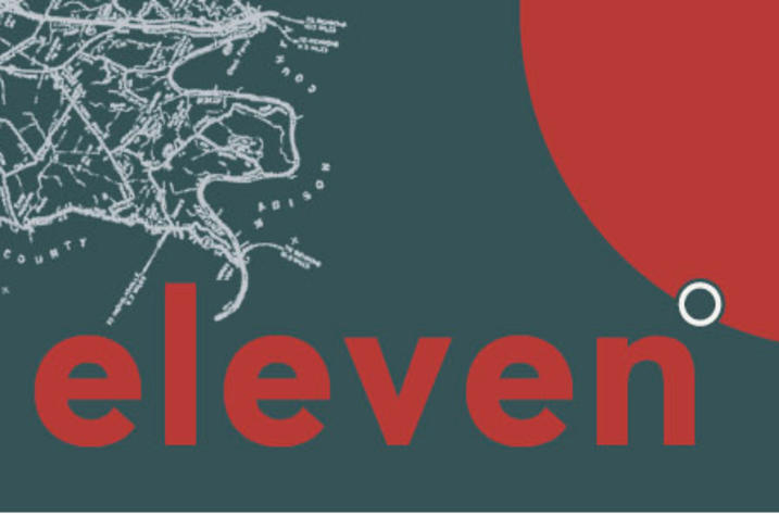 "photo of artwork for ""Eleven Degrees"" BA Show"