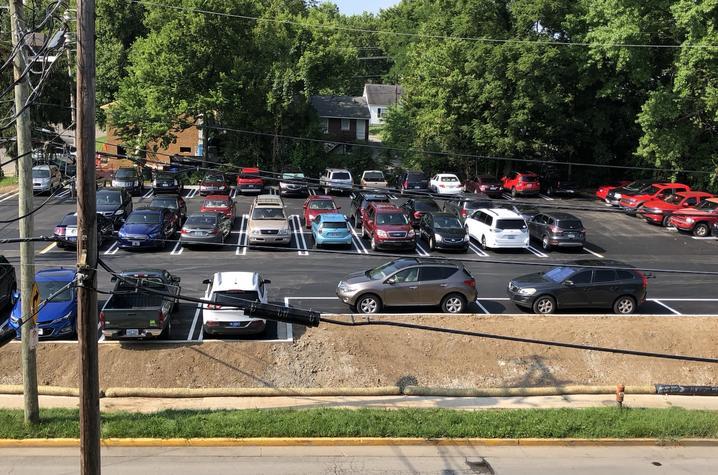 photo of Elizabeth Street parking lot