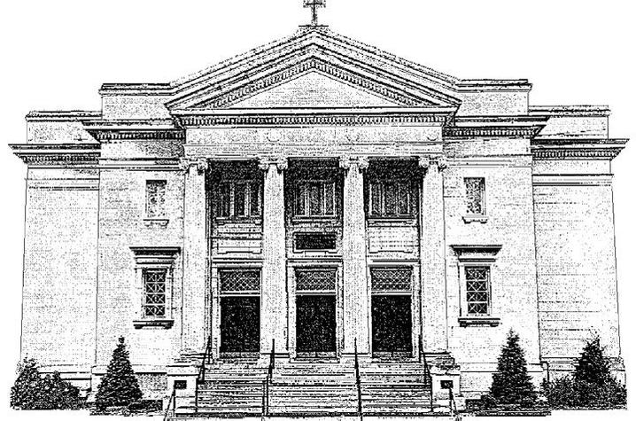 drawing of First United Methodist Church