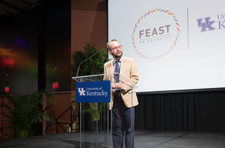 Lance Poston, executive director of Inclusive Health and Campus Partnerships in the Office of the Vice President for Institutional Diversity.
