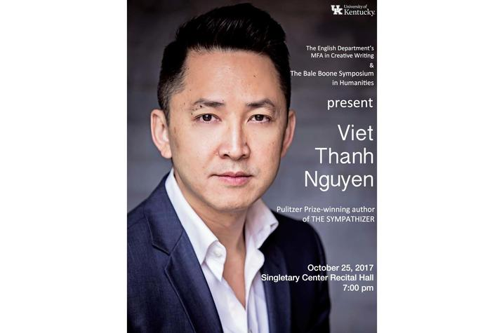 "photo of ""An Evening With Viet Thanh Nguyen"" poster"