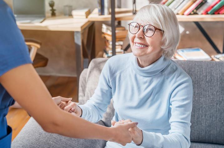 Older woman.