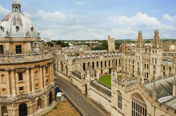 stock photo of Oxford University