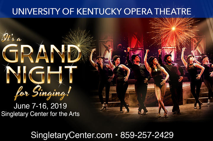 "digital ad for 2019 ""It's a Grand Night for Singing!"""