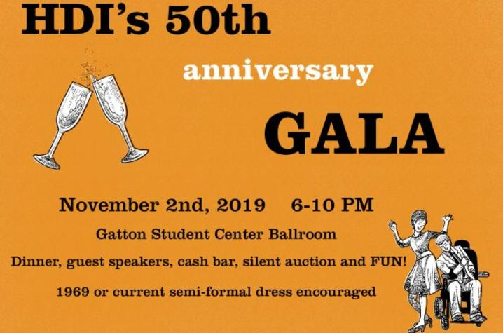 In celebration of HDI's 50th anniversary they are hosting an anniversary gala.