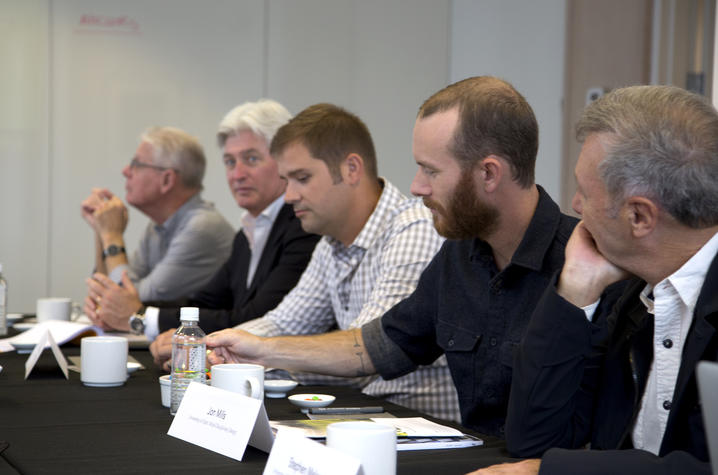 photo of participants at Product Design Roundtable
