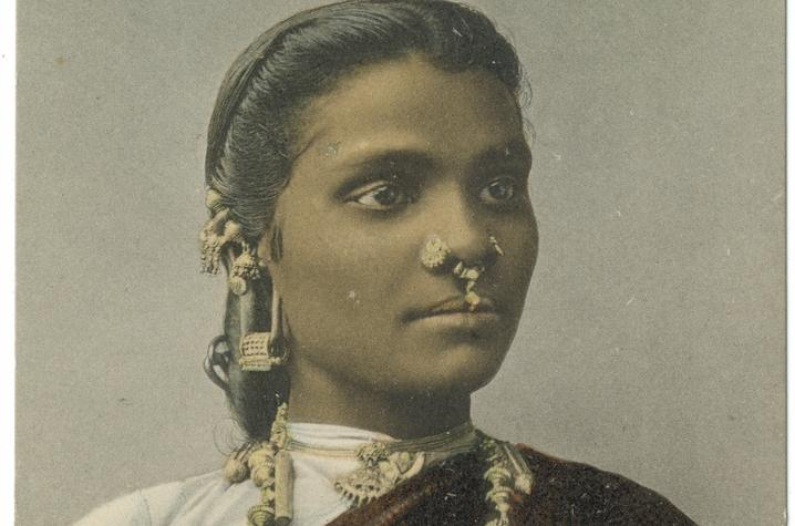 "photo of Tamil Lady from ""Early 20th Century South Asia"""