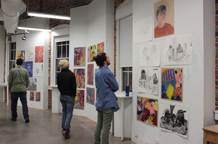 photo of Open Studio 2016