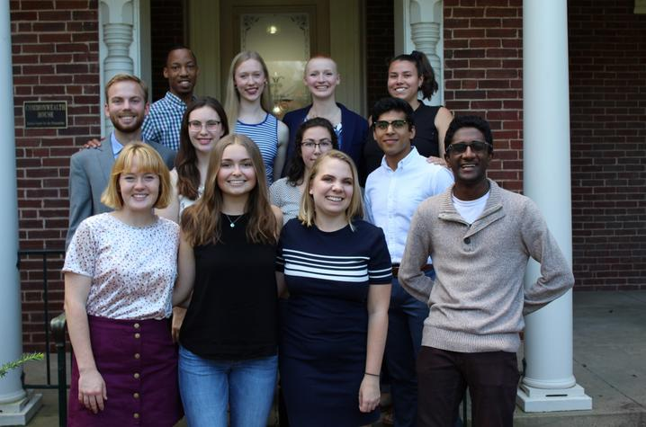 photo of 2018 Gaines Fellows