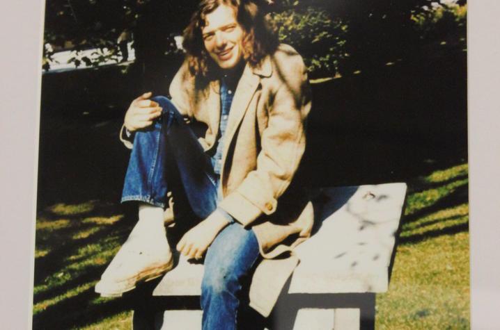 photo of Gatewood Galbraith as a UK student