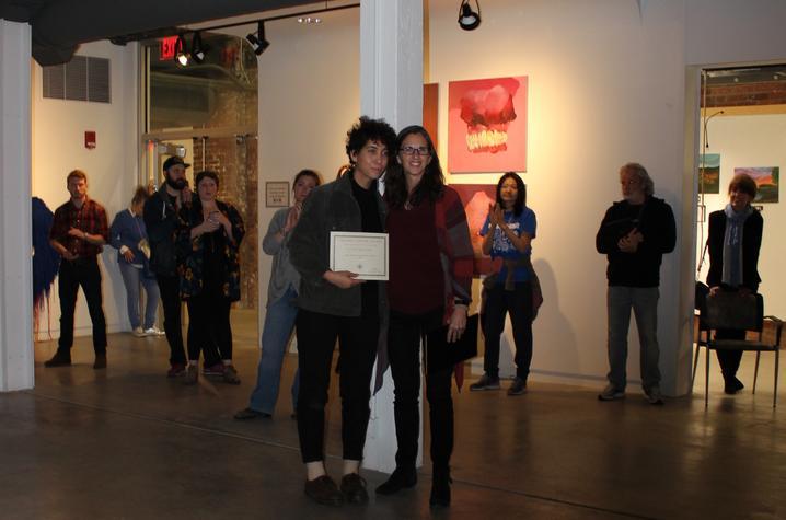 photo of Hayla Ragland and Ruth Adams - 2017 Carey Ellis Show