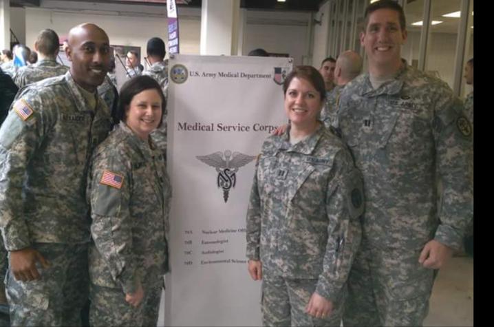 Ahmad Alexander and 3 fellow service members