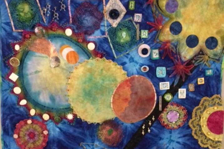Photo of fiber artwork