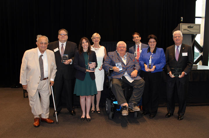 Photo of inductees
