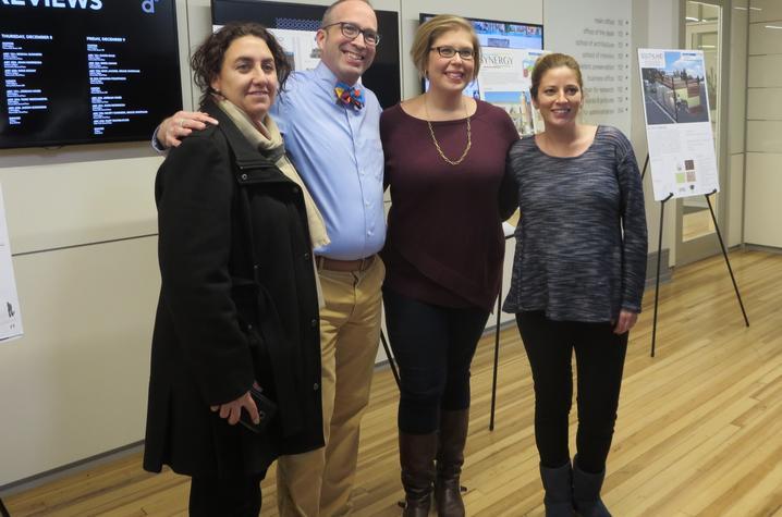 photo of by Carolina Segura, Patrick Lee Lucas, Brandi Peacher & Rebekah Radtke - Retrofitting the RETRO