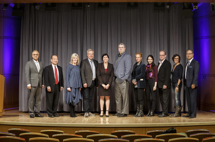 Photo of presenters from the third annual International Society of Neurogastronomy symposium