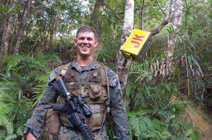 UK Honors Student Veteran Andrew Hatfield