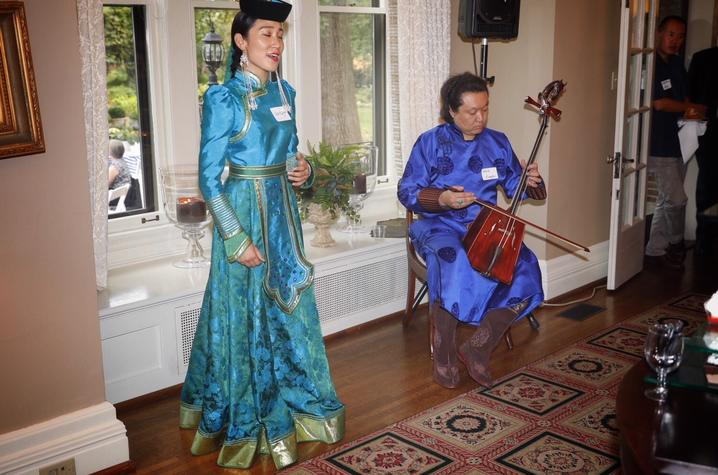 photo of Inner Mongolian musicians