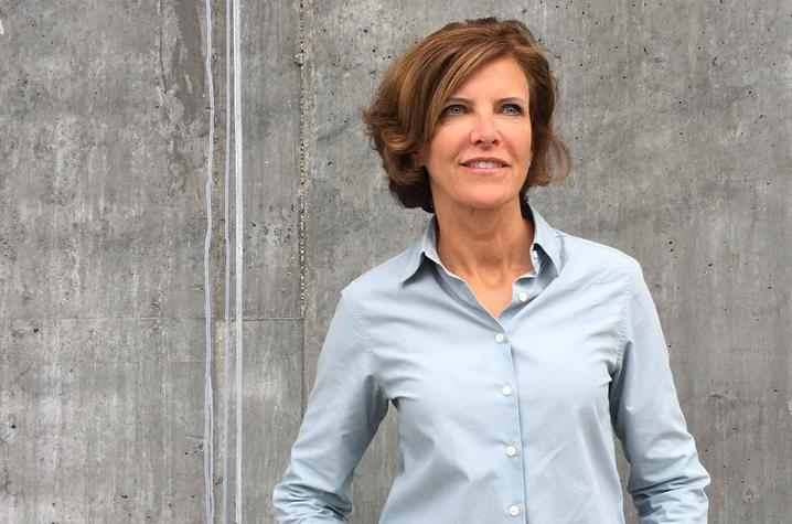 photo of Jeanne Gang, founding principal of Studio Gang,