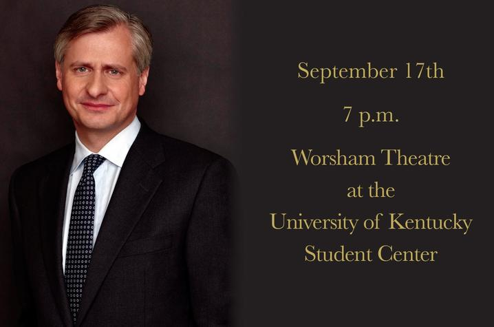 photo of web banner for Jon Meacham's Bale Boone Symposium talk