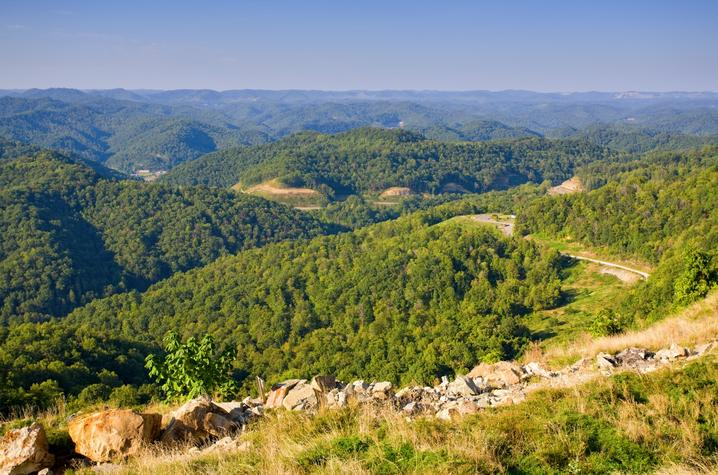 photo of KY mountains
