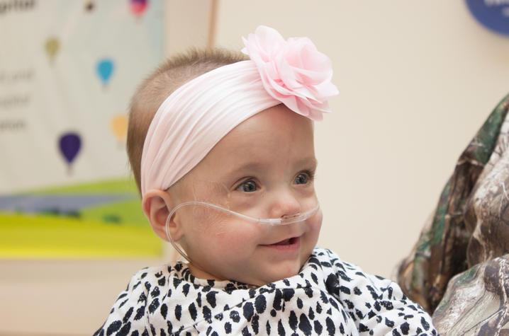 Photo of baby Kyndall Covington