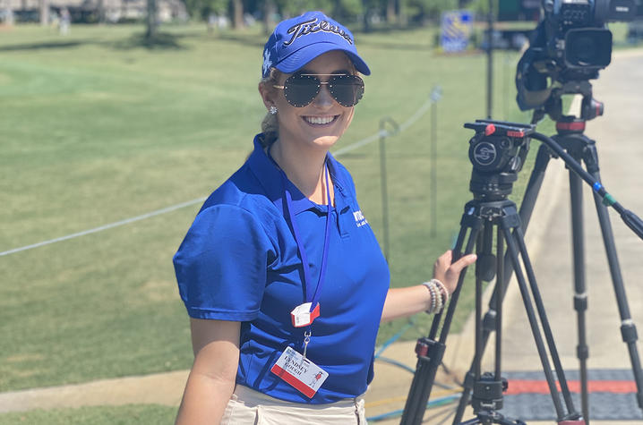 Lyndsey Gough covered the RBC Heritage golf tournament with WTOC-TV just before she contracted COVID-19.