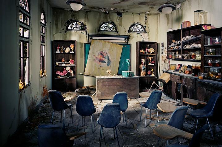 "photo titled ""Anatomy Classroom"" by Lori Nix"