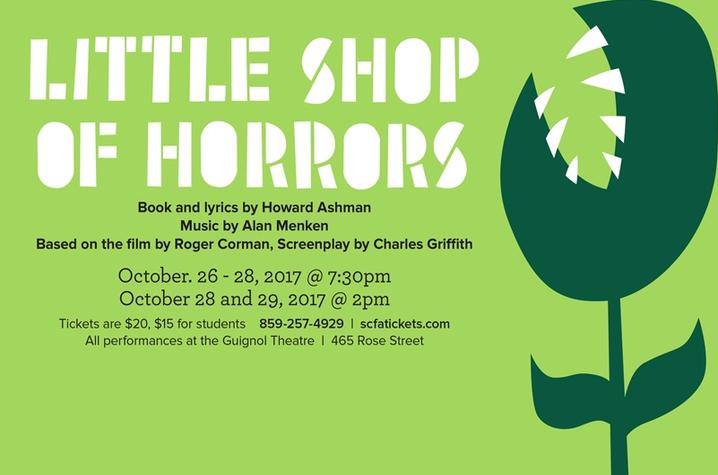 "photo of ""Little Shop of Horrors"" web slider"
