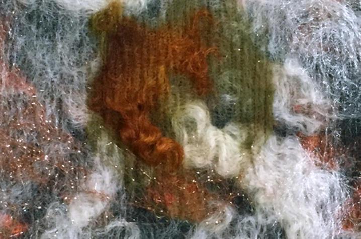 detail photo of felt from Laverne Zabielski's UK Fine Arts Institute workshop