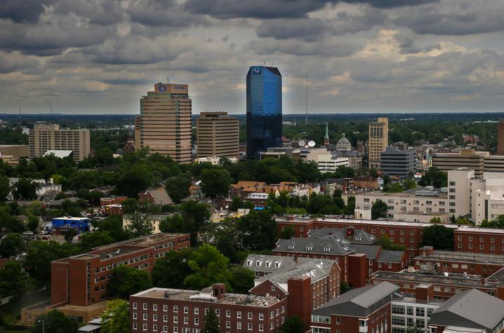 Photo of the Lexington skyline