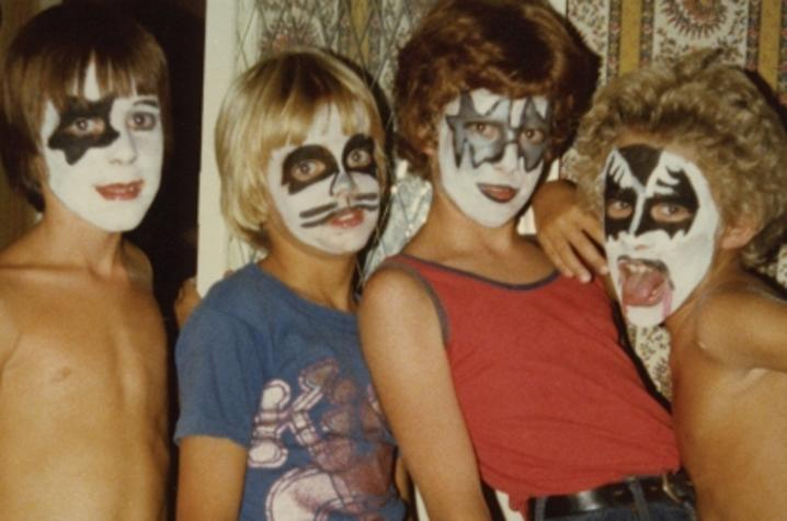 "photo of ""Kiss Kids"" courtesy of Jon Hamilton"
