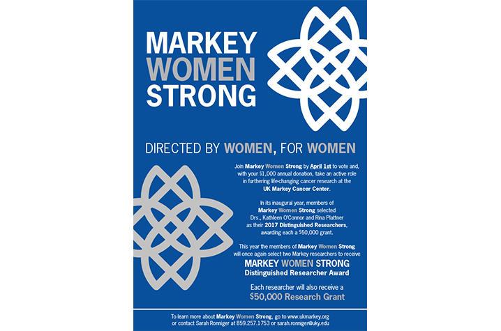 Markey Women Strong