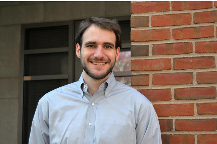 photo of Evan Miller by brick