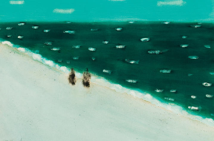 "photo of ""Green Sea"" by Milton Avery"