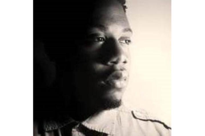 black and white headshot photo of Key'mon W. Murrah