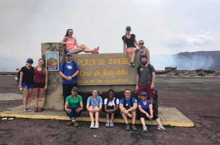 UKCD students in Ecuador