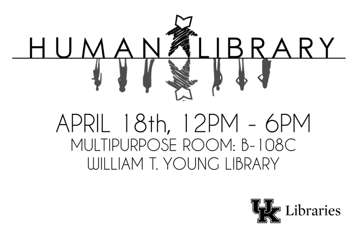photo of UK Human Library poster