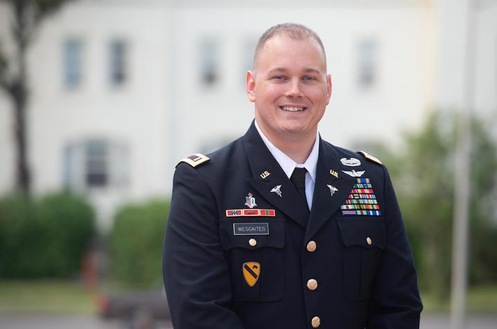 Photo of Lt. Larry Wesgaites