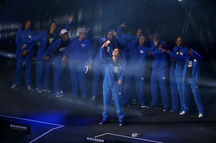 photo of Rachel Potter at Big Blue Madness