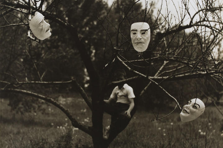 """Untitled"" photograph circa 1963 from Ralph Eugene Meatyard"