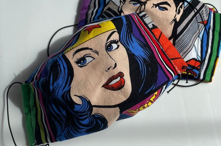 Superhero Mask Project creation