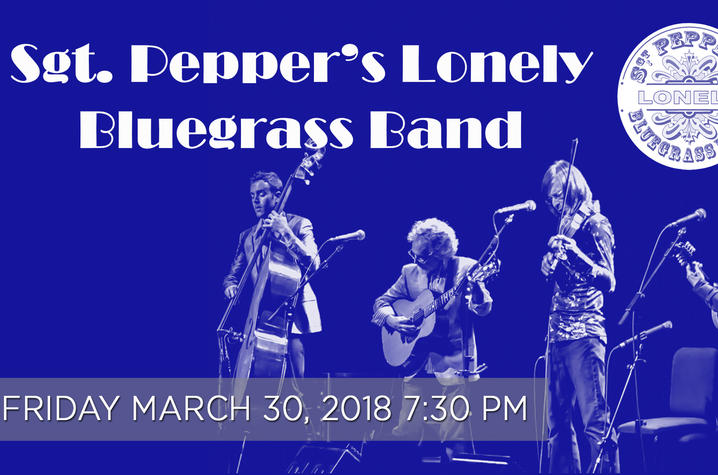 photo of Facebook art for Sgt Pepper's Lonely Bluegrass Band