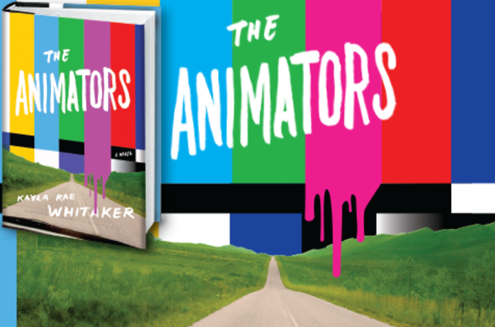 "photo of ad for ""The Animators"" by Kayla Rae Whitaker"
